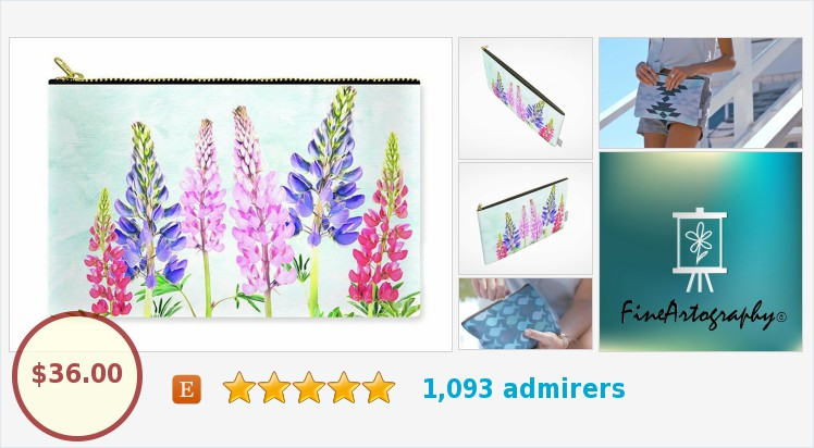 Lupine Flowers Carry All Pouch by FineArtography on Etsy. #carryallpouch #makeupbag #photography #flowers #lupine #flowerphotography #etsy #epiconetsy #cosmeticbag #toiletrybag #travelpurse #giftideas #etsymntt #etsygifts #etsyspecialt https://www.etsy.com/FineArtography/listing/553014686/lupine-flower-art-flower-handbag?ref=shop_home_active_1&frs=1…pic.twitter.com/GThV7RSWIu