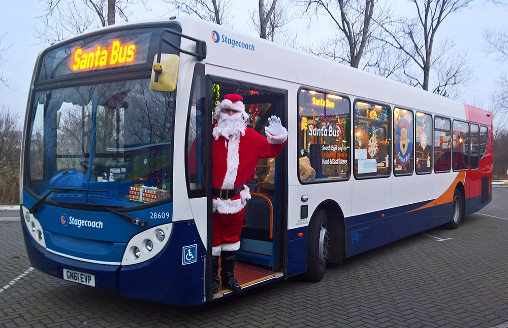 We've invited Father Christmas himself to drive some of our buses throughout #EastSussex in the run up to Christmas! If you spot Santa behind the wheel Tweet us a photo using #SantaBusDriver for a chance to win one day's free bus travel! 🎅🚌http://stge.co/KJXe50xp9G2