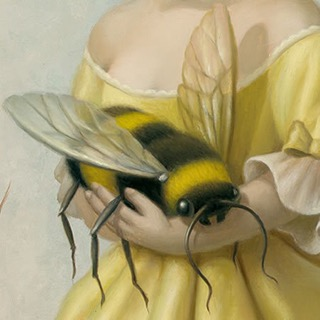 emotional support bee
