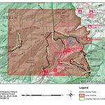 Image for the Tweet beginning: The Mt Baldy Emergency Forest