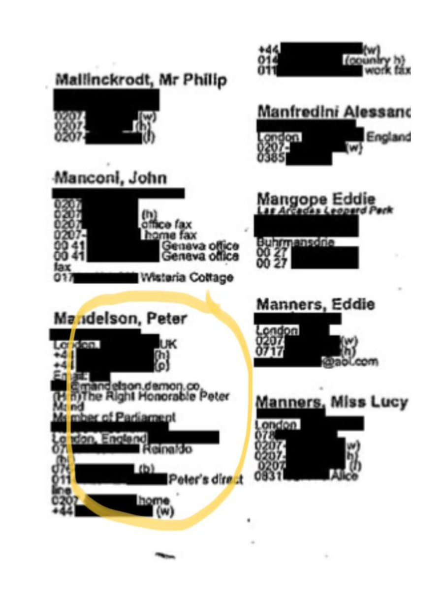 Why had Jeffery Epstein got so many contacts for Peter Mandelson. pic.twitter.com/0FE3Uw1f7V