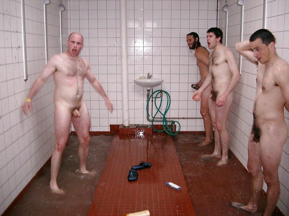 Communal shower nudisttures