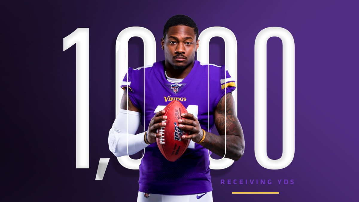 RT @Vikings: 1k for @stefondiggs!!!  #Skol https://t.co/5d2fDO8dyS