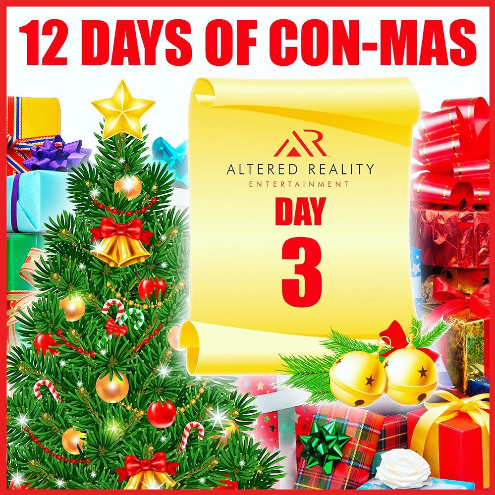 "The ""12 Days of Con-mas"" continues with your chance to win great prizes through the holiday season!   Like this post and retweet to enter. Don't forget to follow our  @comicconbyar pages for your chance to win!pic.twitter.com/HlzuU8W4zG"