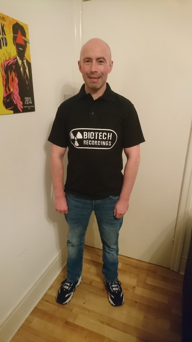 @Biotech_Rec polo shirt I can go for a night out on the Town & promote my label at the same time  #techno #technomusic #hardtechno #dancemusic #electronicmusic #electronicdancemusic #edm #newcastle #darkmode<br>http://pic.twitter.com/426DVg0uPg