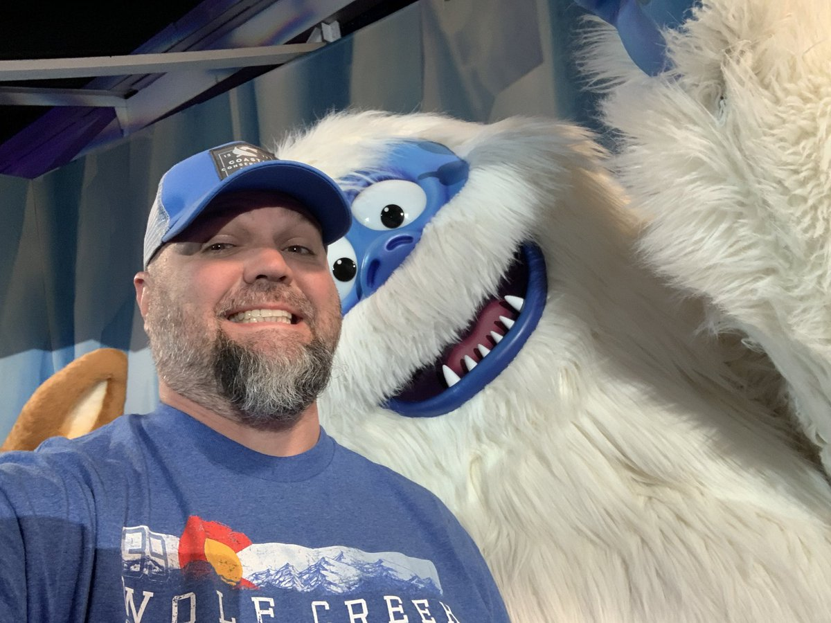 Got to hang with my man Bumble the abominable snowman last night. Cool dude, better tempered now than when he was younger. #OneOfMyFavoriteMovies #rudolphtherednosedreindeer #BumblesBounce