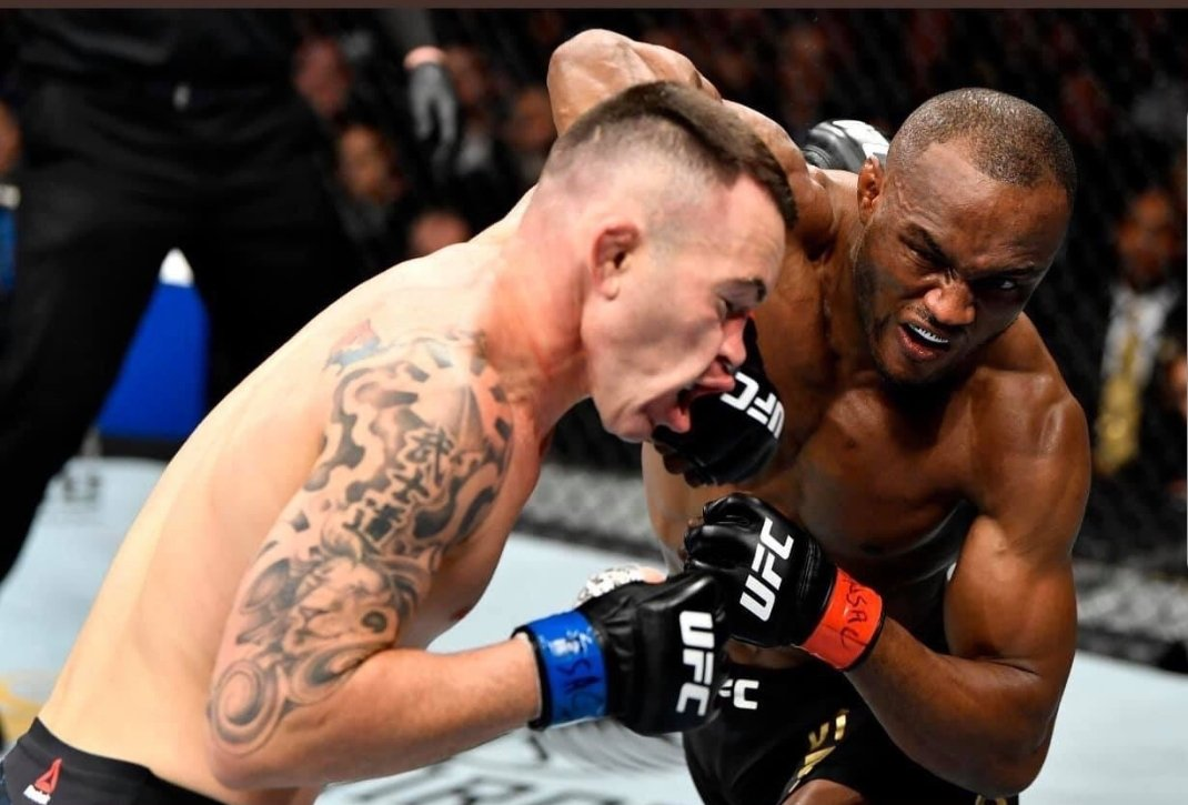 Waking up on #SundayMorning to learn that trump-loving MMA fighter Colby Covington got his #MAGAJAW broken by a superior African fighter is EVERYTHING.
