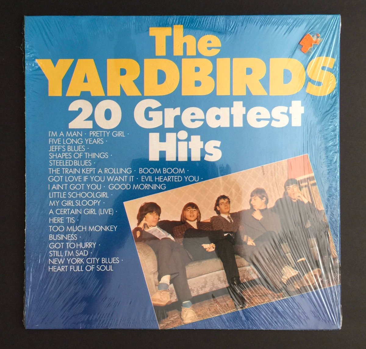Excited to share this item from my #etsy shop: The YardBirds 20 Greatest Hits/Released by Babylon/ West Germany/Late 1970's /https://etsy.me/2rCQJG9 Just Listed! One of the greatest bands of ALL time w/ #EricClapton #JimmyPage #JeffBeck !20% off of everything in my shop! Come by!pic.twitter.com/rtN73jm3UG
