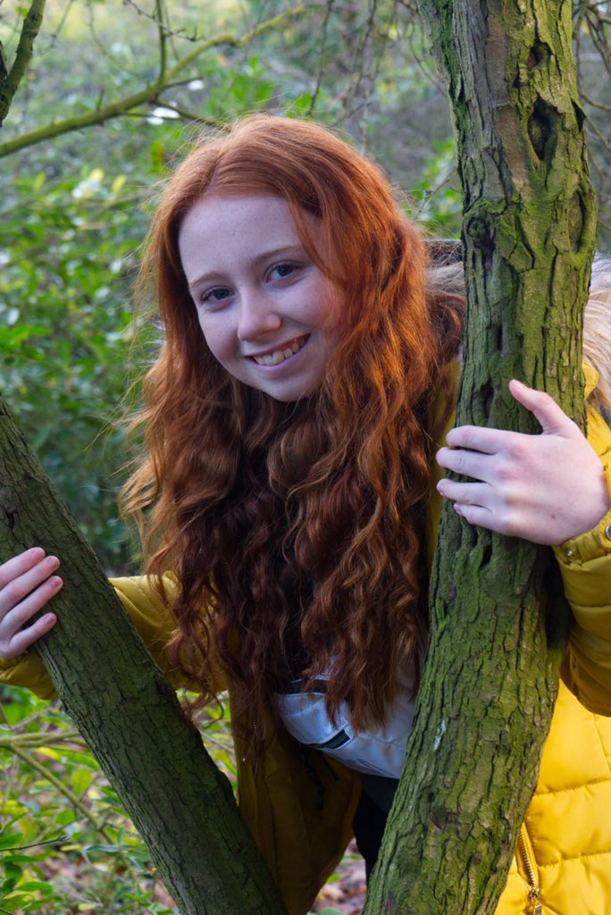 It's always lovely to work on a project @TroveCartoons but it's even better when it's with your good friend @middle8thuk & they capture lovely natural shots 💕💕 #model #photography #redhair #curly