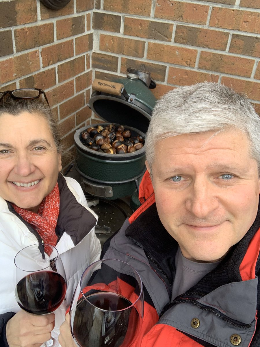 What better way to spend a Sunday afternoon than with your best friend of 34 years, in the backyard, roasting chestnuts on an open fire. #wellbeing #STEM #STEAM #Food #chestnuts #happilymarried
