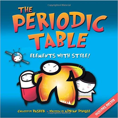 "PERIODIC TABLE 150 YR #Anniversary ENDS SOON!I'm no #chemist but I ❤️the #book PERIODIC TABLE: #ELEMENTS W STYLE. It's #quirky, fact-filled & #fun! @sljournal says ""Handy supplement to #physics #curriculum."" 👏#STEM #stemforkids #STEMed #Science #teachers #chemistry @adchempages"