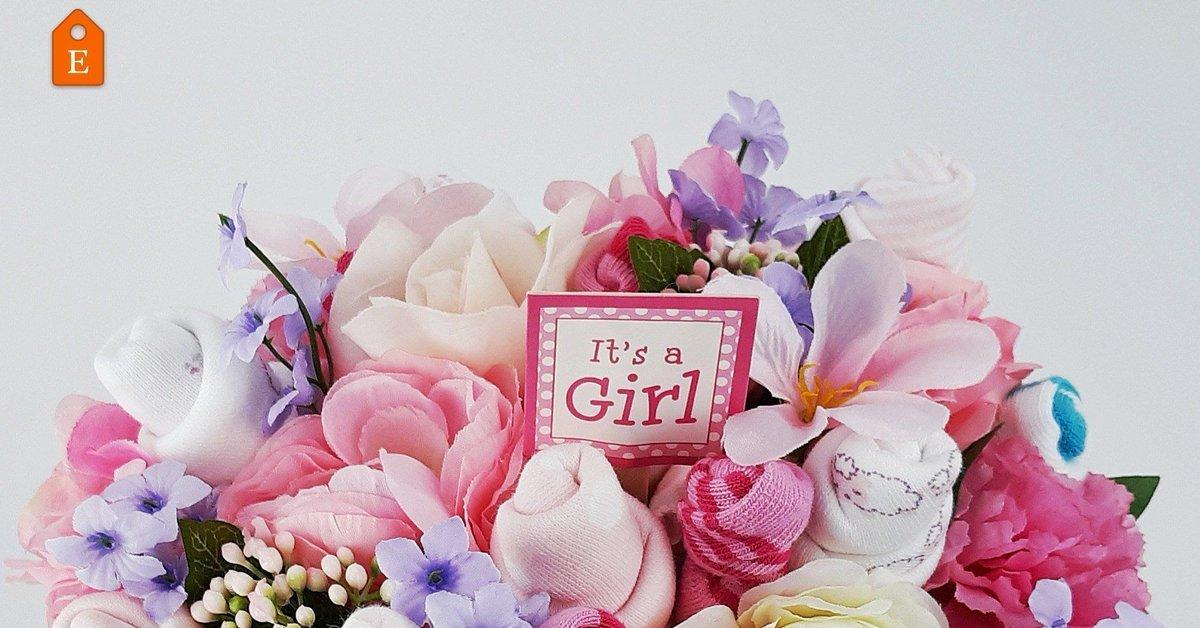 Beautiful Baby Shower Gifts  #epiconetsy #craftshout #craftbuzz #giftbasket #babyshowergift #itsagirl #etsy #baby #newmom #handmade #beautiful #unique #momblog
