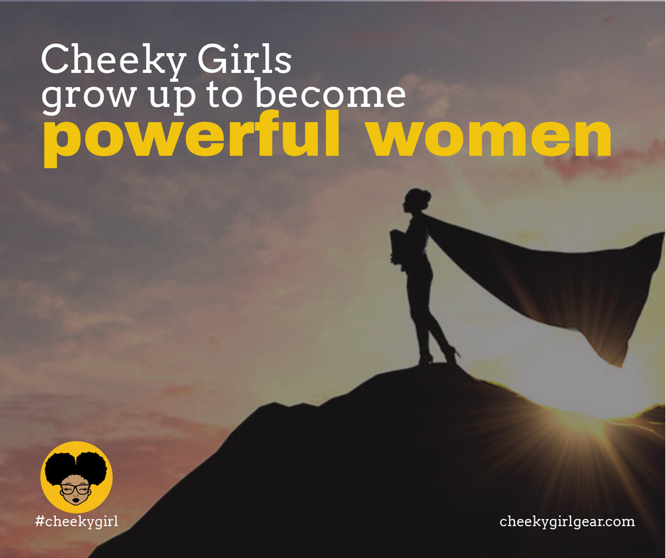 @cheekygirlgear represents all those bold * audacious * saucy little girls because #cheekygirls grow up to become #powerfulwomen pic.twitter.com/HXSrd4LLgU