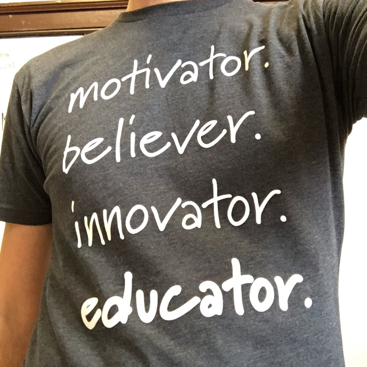 ...because every teacher is a #STEM & #STEAM teacher...just like we all motivate & innovate & believe in our kids!