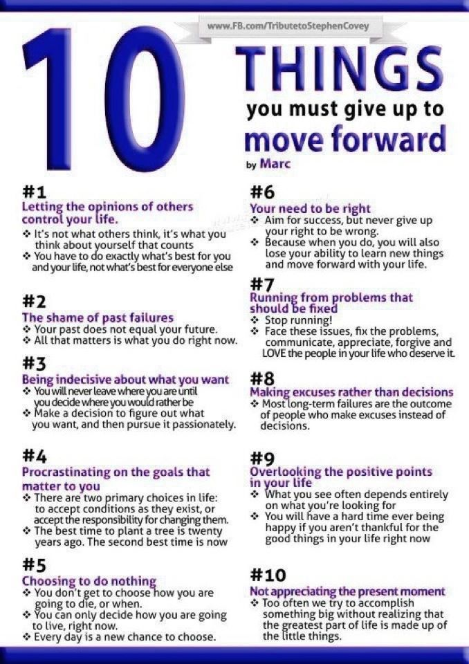 10 Things You Must Give Up To Move Forward  #success #SuccessTRAIN #health #exercise #fitness #goals #dreams #empower #inspire #entrepreneur #successmindset #empowerment #successlifestyle #empowered #entrepreneurship #travel #entrepreneurlifestyle #besomebody #wanderlustpic.twitter.com/9koYuReXxk