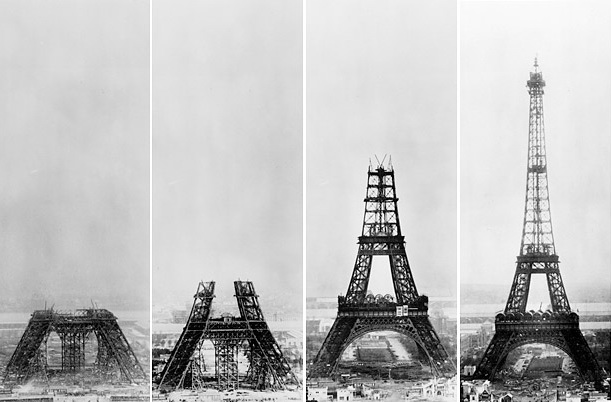 'A hole-riddled supositary'. 'Incomplete, confused & deformed'. 'This truly tragic streetlamp'. 'A giddy, ridiculous tower'. 'A gigantic black smokestack'. 'All of our humiliated monuments will disappear in this ghastly dream'. The French loved #GustaveEiffel, but not his tower.