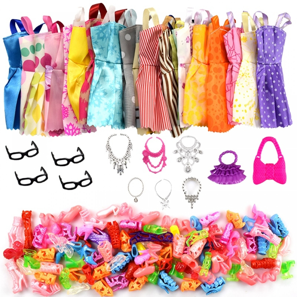 #love #baby Doll Clothes and Accessories 32 pcs Set