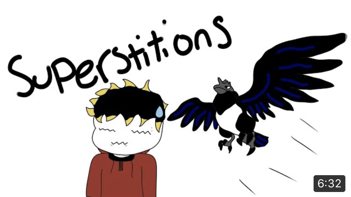 Have you guys ever believed in superstitions? Well me too... https://youtu.be/2admmTqdxck via @YouTube @New_YouTubers @MeetNewYoutube #youtube #newyoutuber #animation #youtubeanimationpic.twitter.com/YSfFXGa3iG