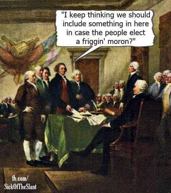 The Founders could NEVER imagine you! pic.twitter.com/EWMPgovTjL