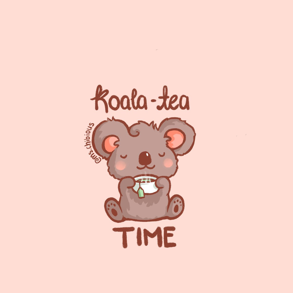 It's almost time for the holidays   Enjoy spending #koalatea time with family and friends but don't forget to make time for you and self-care! #wholesome #cuteart #koalaspic.twitter.com/8PKoQDYD0v
