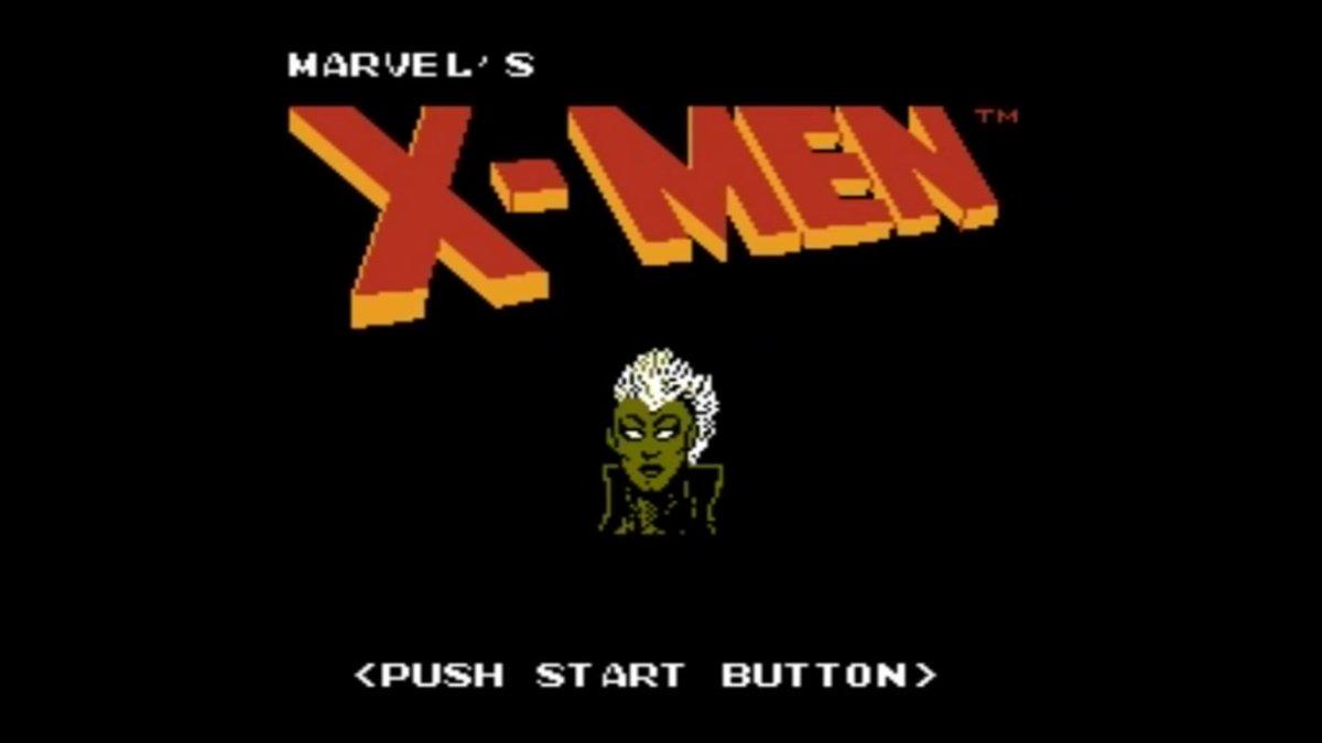 Storm in Marvel's X-Men for Nintendo - love this title screen!  #Storm #XMen #RetroGaming #Nintendo #MarvelsXMenpic.twitter.com/dHscePItih