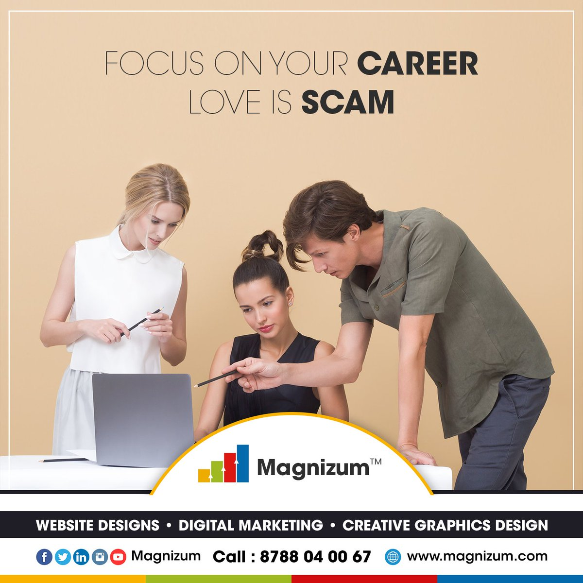 Follow Magnizum - @magnizum  #magnizum #digitalmarketing #marketing #socialmediamarketing #socialmedia #seo #business #onlinemarketing #marketingdigital #entrepreneur #advertising #contentmarketing #marketingtips #marketingstrategy #webdesign #smallbusinesspic.twitter.com/My9zbbYIqf