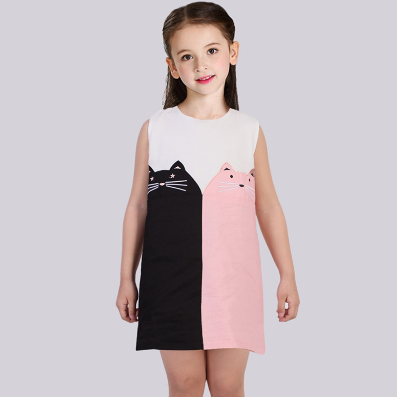 Cute Cat Print Sleeveless Dress Link: https://lite.lc/essdf1  * Material: 80% Cotton, 20% Polyester  Free Shipping over $99.00 14 Days Return 100% Secured Payments Highest Quality Guarantee  #cat #cats #catsofinstagram #catstagram #catlover #catoftheday #catsagram #catlovers pic.twitter.com/K8amdZhXeK