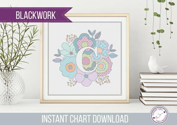 In the minouette shop: Blackwork Floral C Pattern, Floral Blackwork , Blackwork Letter C , Blackwork chart by Peppermint Purple by PeppermintPurple at https://ift.tt/2H77hul pic.twitter.com/uUc7yTtlTk