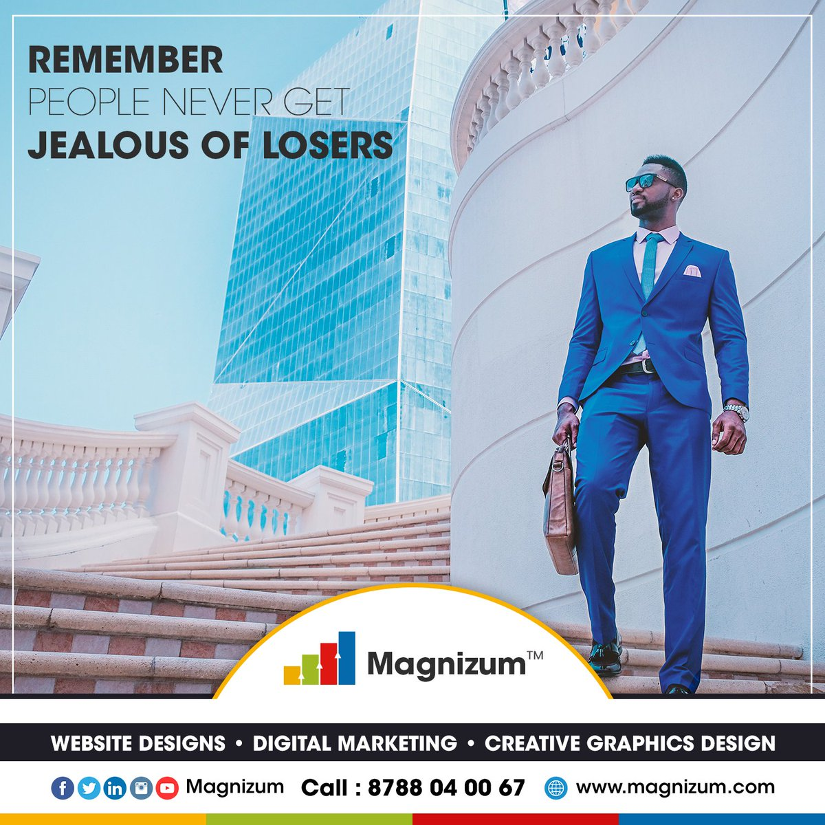 Follow Magnizum - @magnizum  #magnizum #digitalmarketing #marketing #socialmediamarketing #socialmedia #seo #business #onlinemarketing #marketingdigital #entrepreneur #advertising #contentmarketing #marketingtips #marketingstrategy #webdesign #smallbusinesspic.twitter.com/thbqzbnoz9