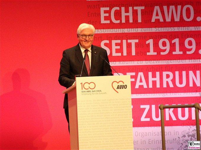 BPr F.-W. Steinmeier beim Festakt der Arbeiterwohlfahrt i