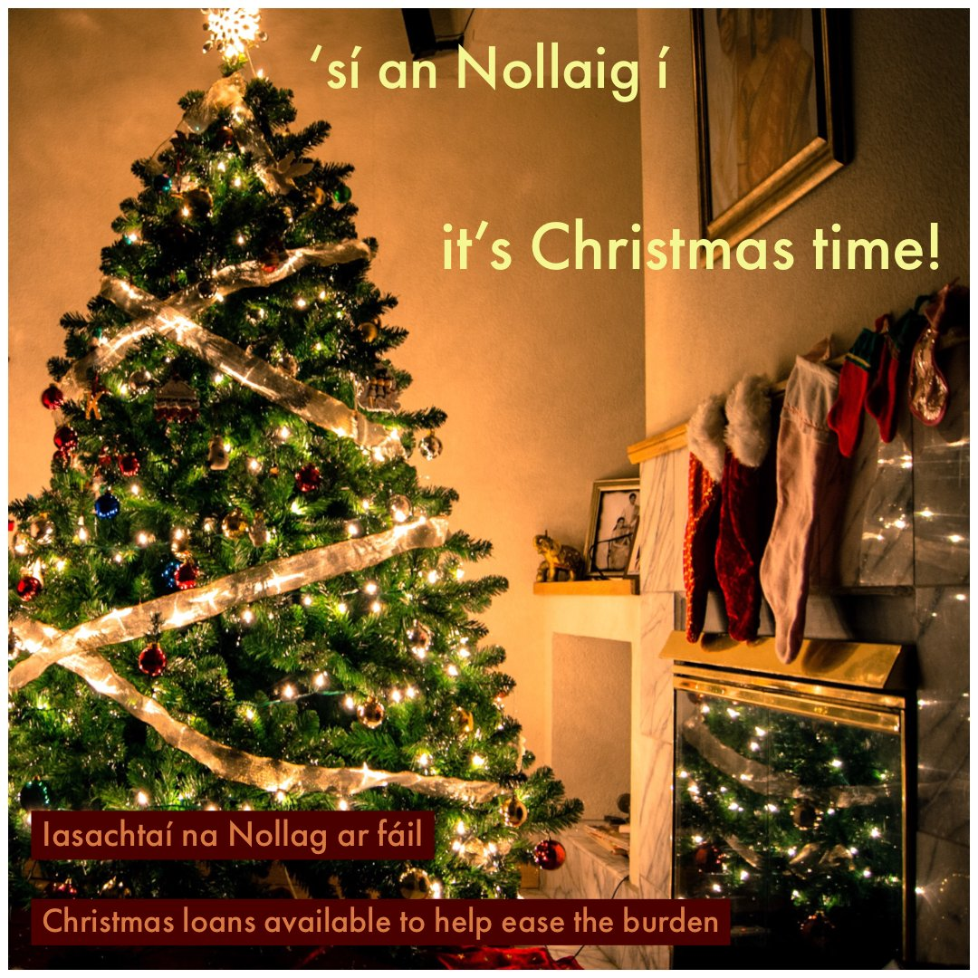 'sí an Nollaig í ... ná bí faoi bhrú ...  tar chun cainte linn mar gheall ar iasacht Nollag Christmas is coming  ... don't let the financial strain get to you ... come and talk to us about a Christmas loan #ad #Christmas #Nollaig #ShopLocal #Local #CorcaDhuibhneCUpic.twitter.com/2jH95DrEGQ