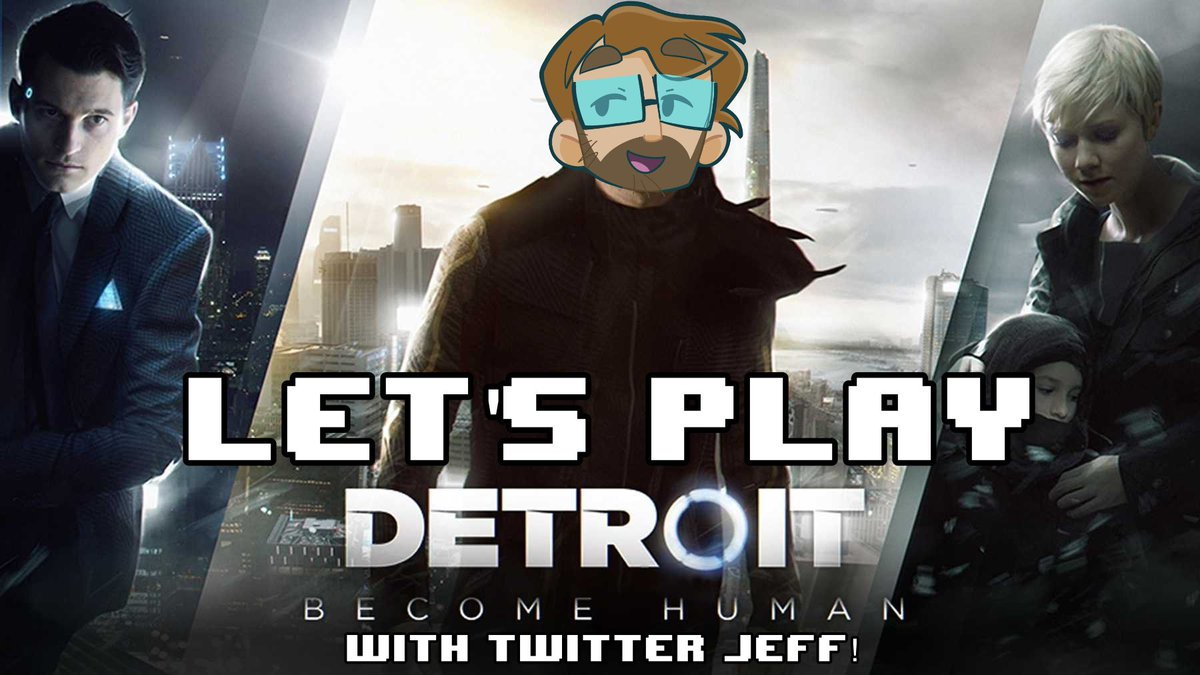 Detroit: Become Human is on PC now! In fancy 4k!  We did a full playthrough on livestream! If you want to see Twitter Jeff slowly fall in love with @BryanDechart over four episodes then check out our playlist! #ConnorArmy  https://www.youtube.com/playlist?list=PLa5HZ2YtUGBiVOUeXvZuCqbkX17v0aNir…pic.twitter.com/wdRWcbZIp2