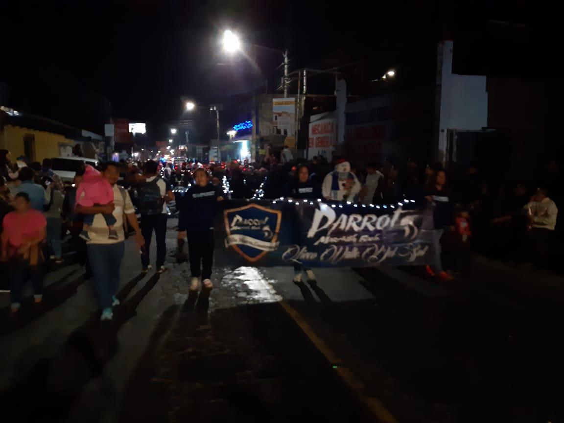 El júbilo y la alegría son unos de pilares del #DesfileVN2019, tradición de nuestro municipio. #VN100x100 @CanalVntvpic.twitter.com/6h3MjgAaeG
