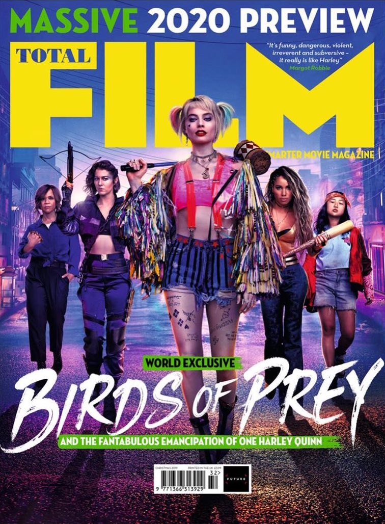 exclusive Total Film magazine covers featuring #BirdsOfPrey. ✨