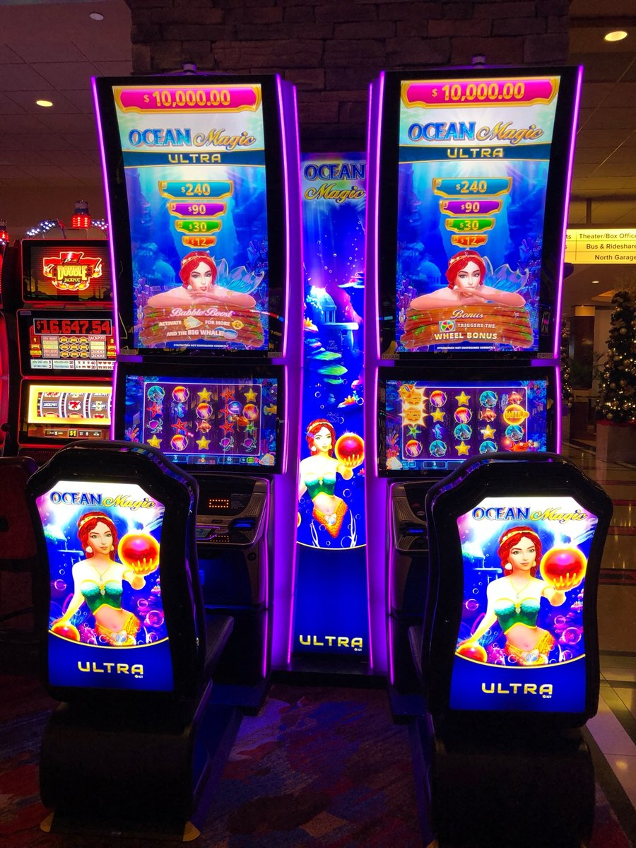 Dive into a sea of treasures with one of our newest slot machines, Ocean Magic! It's bubbling with fun! ⁠ ⁠ #SlotMachineSunday #Pechanga #Resort #Casino #Hotel #Win #Slots #SlotMachine #Play #Gamble #Temecula #Funpic.twitter.com/LJ8xGyTaAn