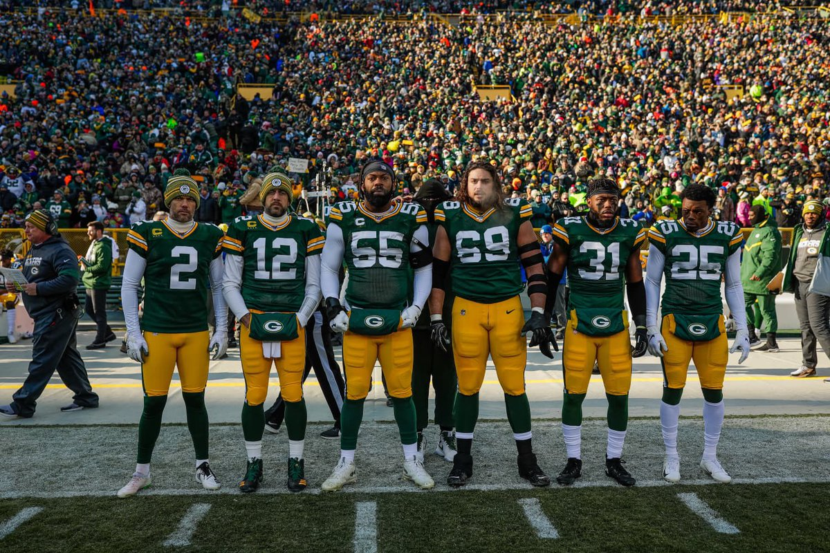 Today's #Packers captains photo  #GoPackGo #GBvsCHI