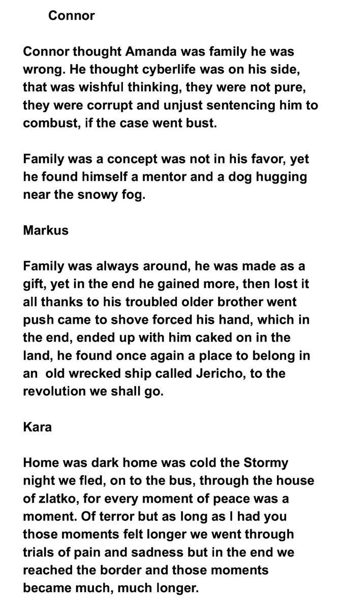 Day 15 family #detroitbecomehuman #DechartDecember #DechartGames #connorarmy @BryanDechart @AmeliaRBlairepic.twitter.com/pSq5kXCBkG