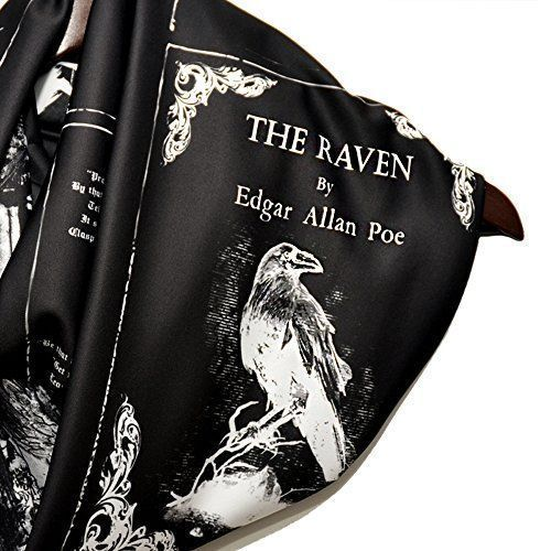 From Raven-inspired apparel to wonderfully dreary decor, this Edgar Allan Poe gift guide features dozens & dozens of clever, creepy, & creative gift ideas!   Updated for 2019!   https://buff.ly/2TahcUi pic.twitter.com/U3v1V9q1Sq