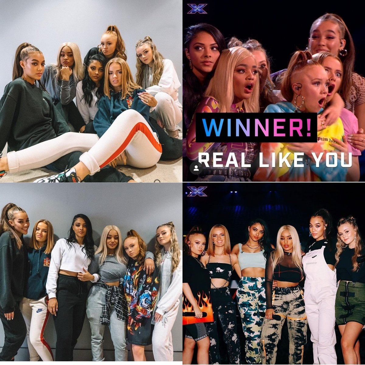 Congratulations to the girls @reallikeyouofficial for winning the @thexfactor beautiful song to end the show. #reallikeyou #xfactor #girlsband #makup #girls #winning #winner #lindacosgroveshow #pr #socialmedia #instafamous pic.twitter.com/L4VXNNZp8W