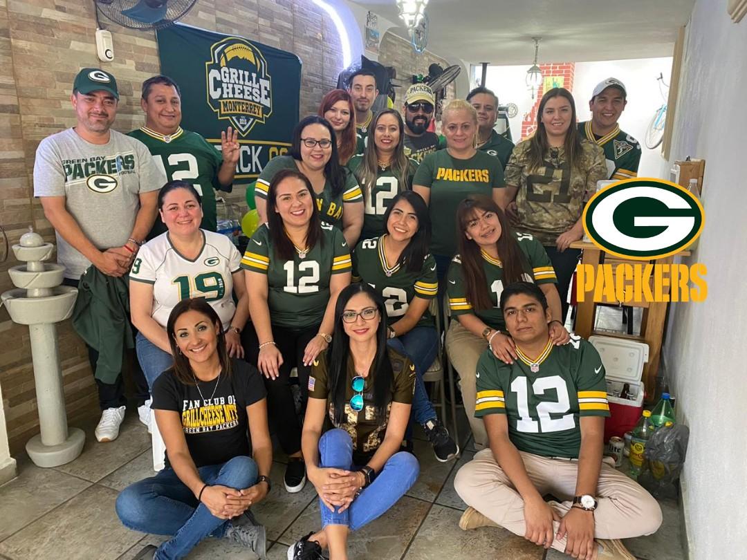 #GoPackGo Posada #Packers en #Monterrey , #GBvsCHI @GrillCheeseMty @PackerFansOnly @Packers_Mx