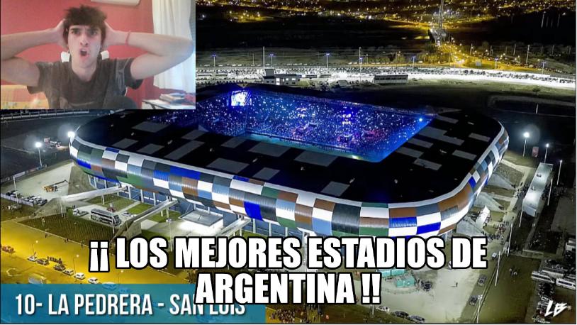NJUEVOO VIDEOO  ESPAÑOL REACCIONA a LOS MEJORES ESTADIOS DE ARGENTINAhttps://youtu.be/9b0hDmRYC0s  UN RT AYUDA AMIGOS ARGENTINOS!!#Argentina #futbol #Argentinos #futbolargentino #Boca #RiverPlate #independiente #Racing #BuenosAires #Cordoba #MarDelPlata #Rosario #SanLorenzopic.twitter.com/BDX8c8amuL