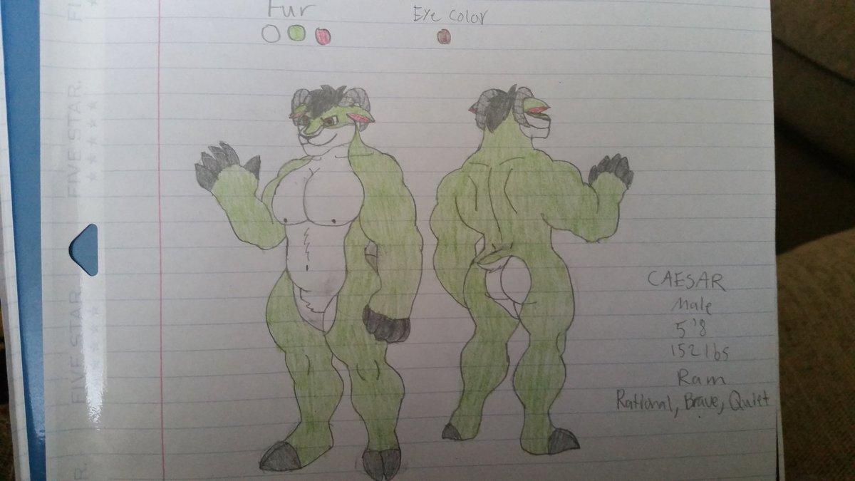 Ram furry OC :3 pic.twitter.com/GkZqo8AYNK