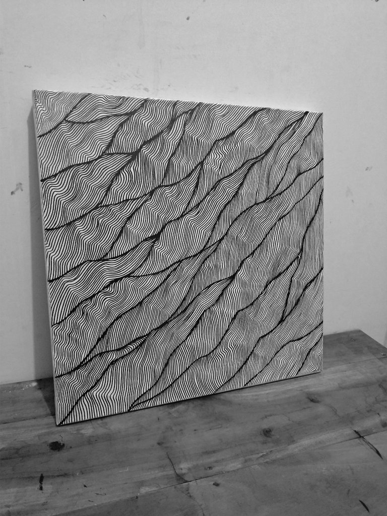 """Reflect"" - 40 x 40 cm - $250 include shipping  #lineart #linework #originalartwork #originalart #drawing #handdrawing #penandink #artwork #Art #gallery #galleryart #fineart #ContemporaryArt pic.twitter.com/RMey31xj5T"