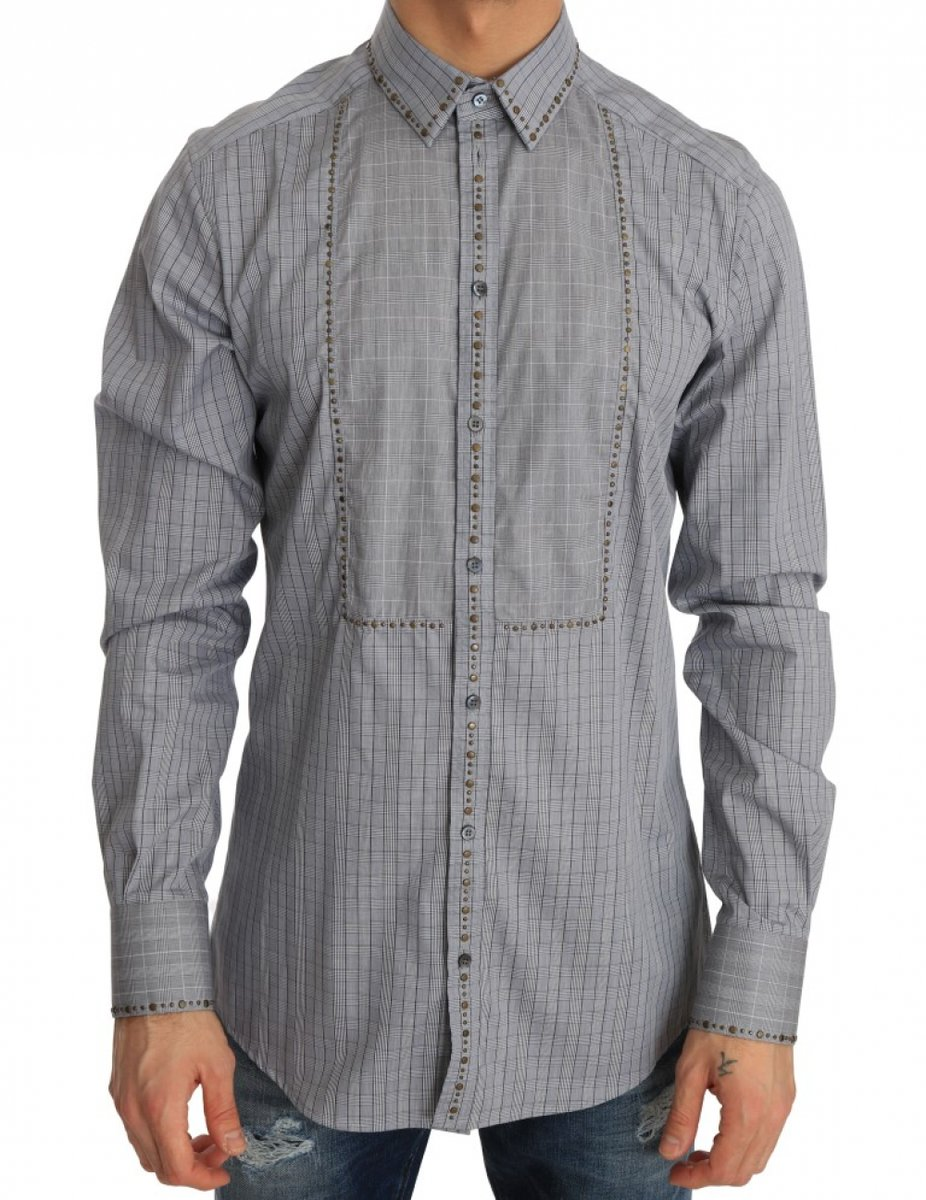 Gray Check GOLD Cotton Slim Fit Shirt by Collection de prestige  Shop the collection at https://www.collectiondeprestige.com/product/dolce-gabbana/gray-check-gold-cotton-slim-fit-shirt/ … . . .  #collectiondeprestige #luxury #fashionblogger #outfit #competition #modelingpic.twitter.com/eiqFn80oE0