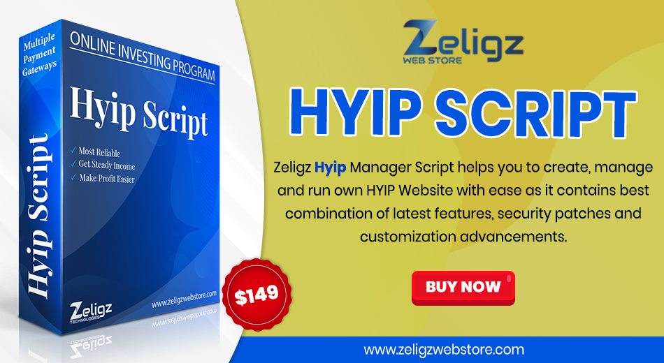 Zeligz #HYIP_script is intended for the people who are willing to achieve in their online #investment #business. Their script has lots of new #features and creativity and on a regular basis update #software with brand-new features: https://www.zeligzwebstore.com/product/hyip-script …pic.twitter.com/FpgAfNraSH