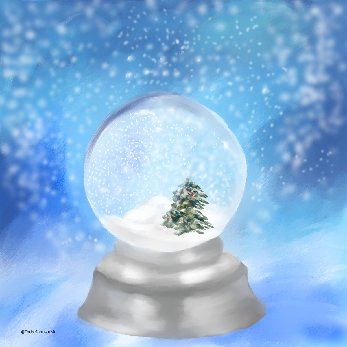Day 6 Snow a little bit late#DechartDecember #ConnorArmy #DechartGamespic.twitter.com/oEDWeAc8tC