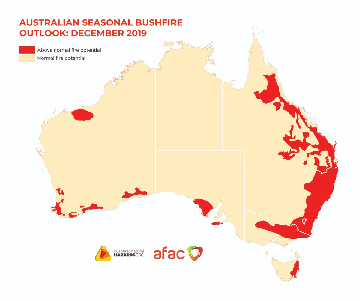 Bnhcrc On Twitter What S The Bushfireoutlook Across Australia