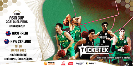 Our Aussie Boomers will take on the New Zealand Tall Blacks in an all-important 2021 FIBA Asia Cup qualifier!  These trans-Tasman rivals will meet at Brisbane's Nissan Arena on Thursday 20 February 2020.  Tickets on sale Wednesday 18 December, 10am AEST 🎟️ http://bit.ly/BoomersvTallBlacks-BookNow …