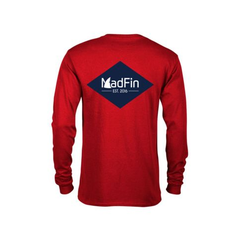 OG Logo Long Sleeve Tee by MadFin $29.99 Classic fit 100% Soft cotton (fibre content may vary for different colors) Light fabric (5.2 oz /yd² (176 g/m²)) Tear away label Runs true to size Buy now at https://buff.ly/2LXZf9qpic.twitter.com/5SKlGv0i5g