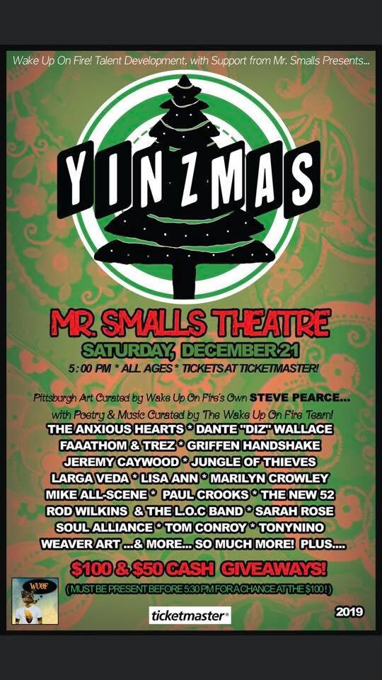 Pumped to be able to share the stage again with our boys @LargaVeda . Saturday, December 21st at Mr Smalls theater. Tickets on sale now from us directly or the link below!  http://wakeuponfirestore.1freecart.com/i/305816/soul-alliance-perform-at-yinzmas-2019.htm…pic.twitter.com/60f7HkwduL